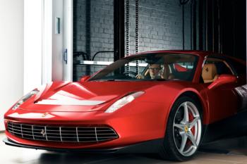 Eric Clapton Ferrari