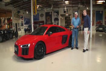 Jay Leno Audi R8