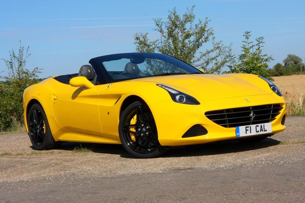 Ferrari California Front View