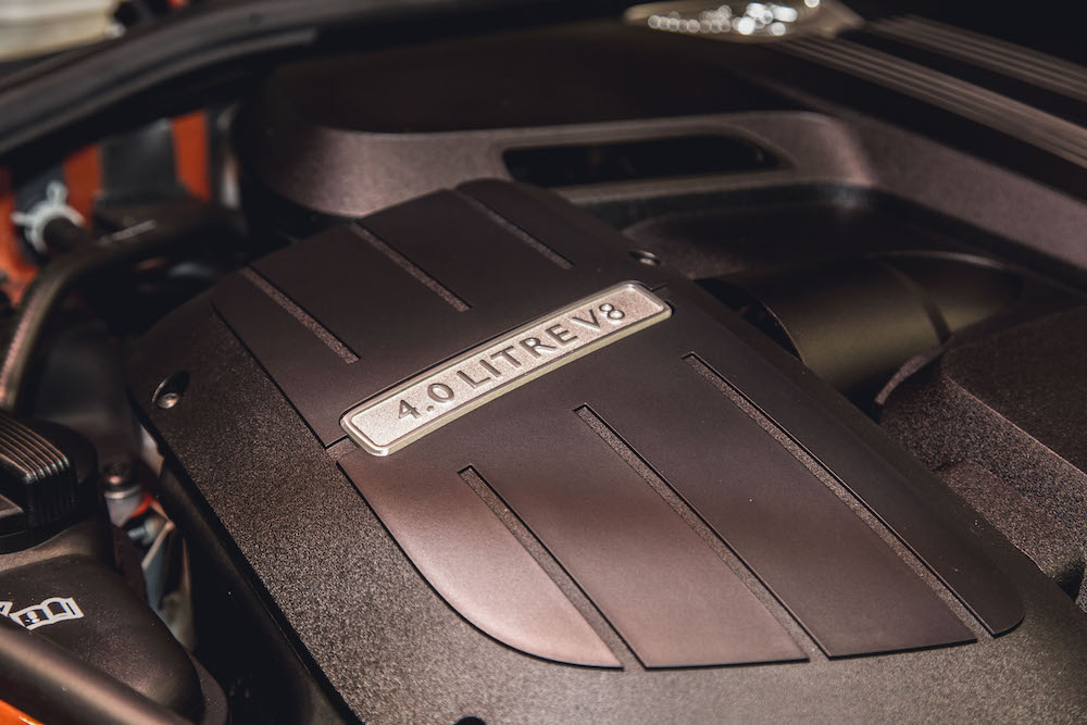 Bentley Continental Engine