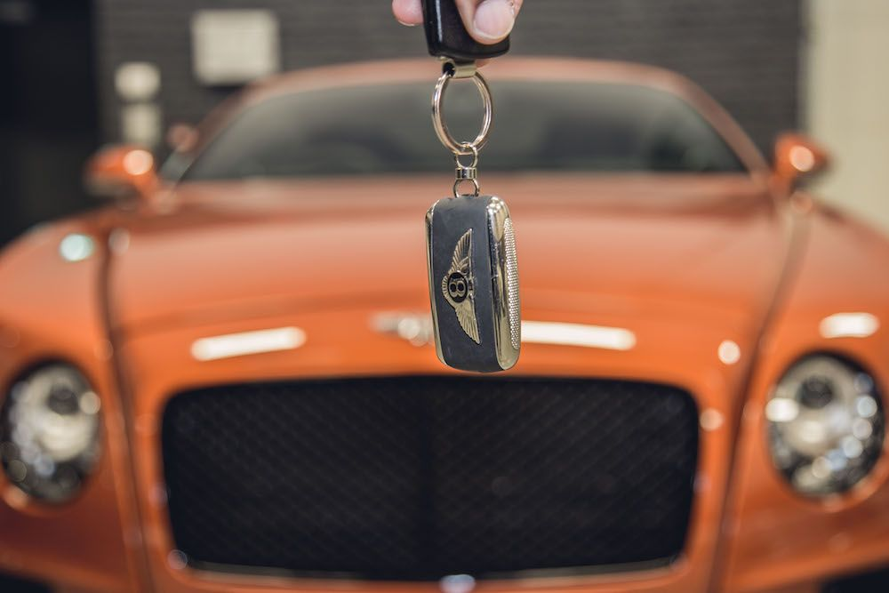 Bentley Continental Keys