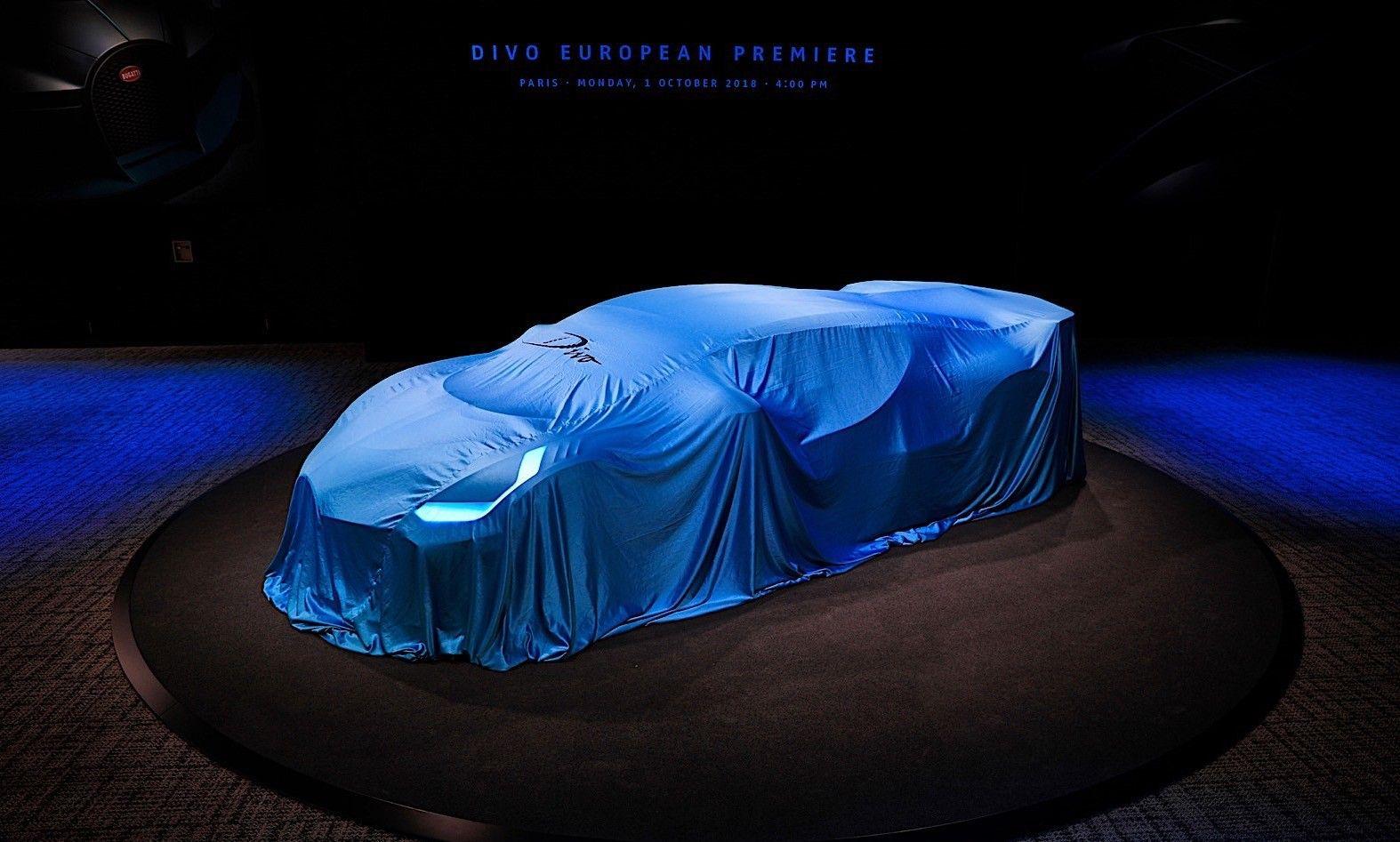 Paris Motor Show Bugatti