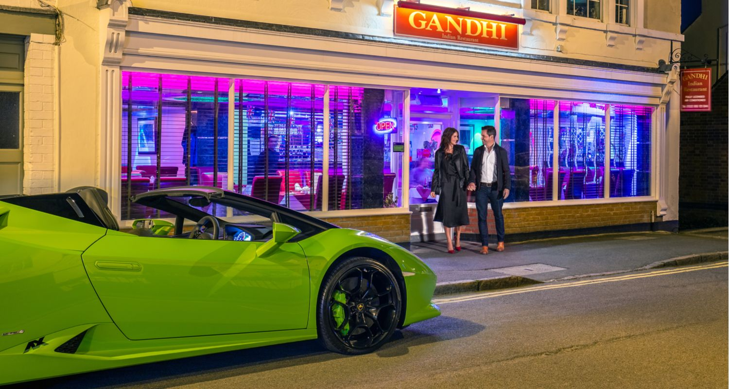 Supercar Hire Date Night